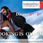HERE COMES THE SAMANTHA BRIDAL JULY -2014 EXPO!