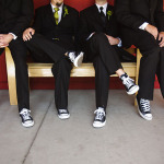 Groomsmen Shoes: Converse