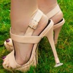 Wear Heels to a Garden Wedding with No Reservations