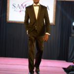Africa's most desirable man on the Samantha's bridal catwalk