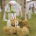 UNIQUE RUSTIC WEDDING RECEPTION DECOR