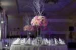 centerpiece white tissue